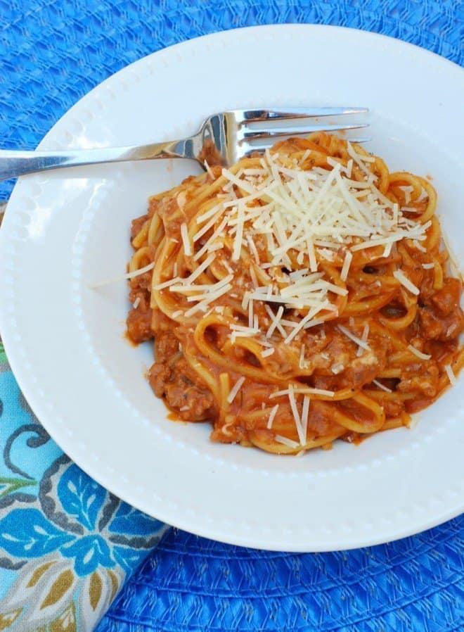 Speedy-Portobello-Mushroom Spaghetti