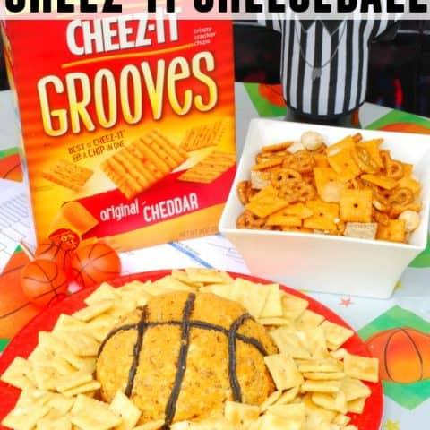 Slam Dunk Cheeze-It Cheeseball