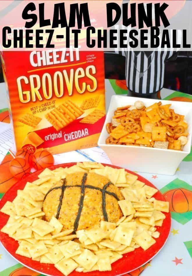 Slam Dunk Cheeze-It Cheese Ball