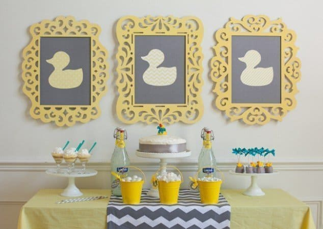 DIY Sunday Showcase - Modern Duck Baby Shower