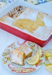 Lemon Dessert Recipes - Lemon Squares Using Country Crock