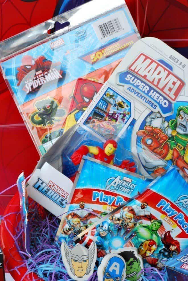 Disney Marvel Easter Basket