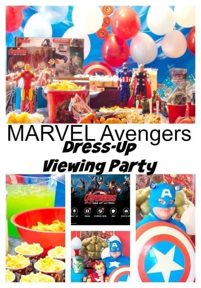 MARVEL Avengers Dress-Up Viewing Party
