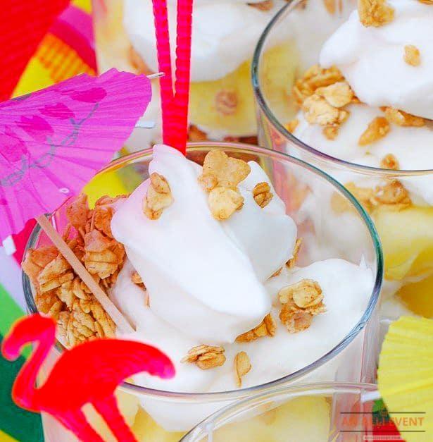 Tropical Yogurt Parfait
