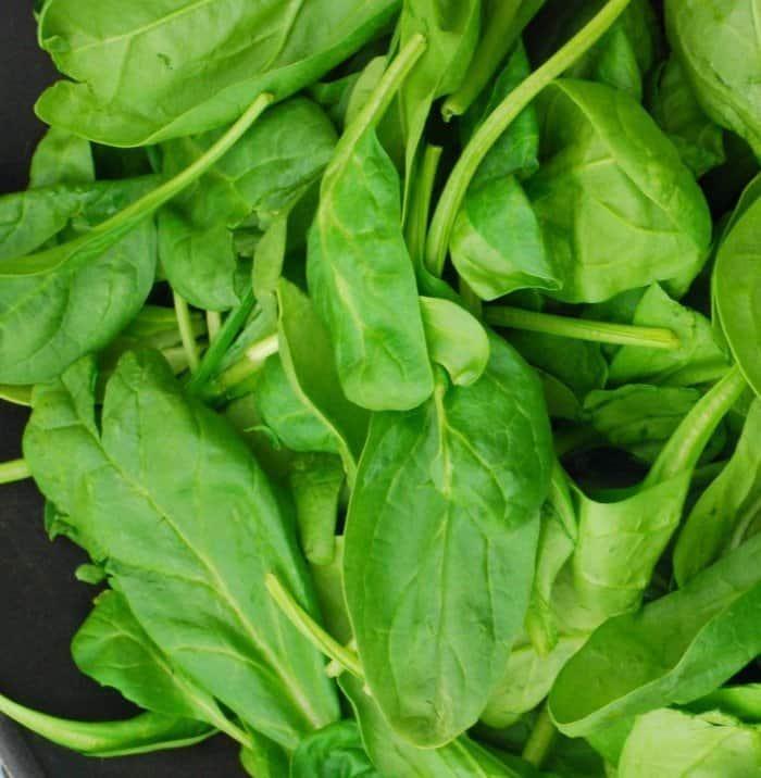 Onion Rings & Spinach Quesadillas