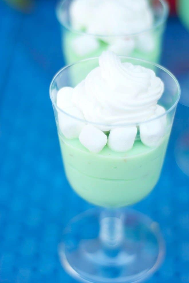 Smashing Pistachio Pudding for the Avengers Party