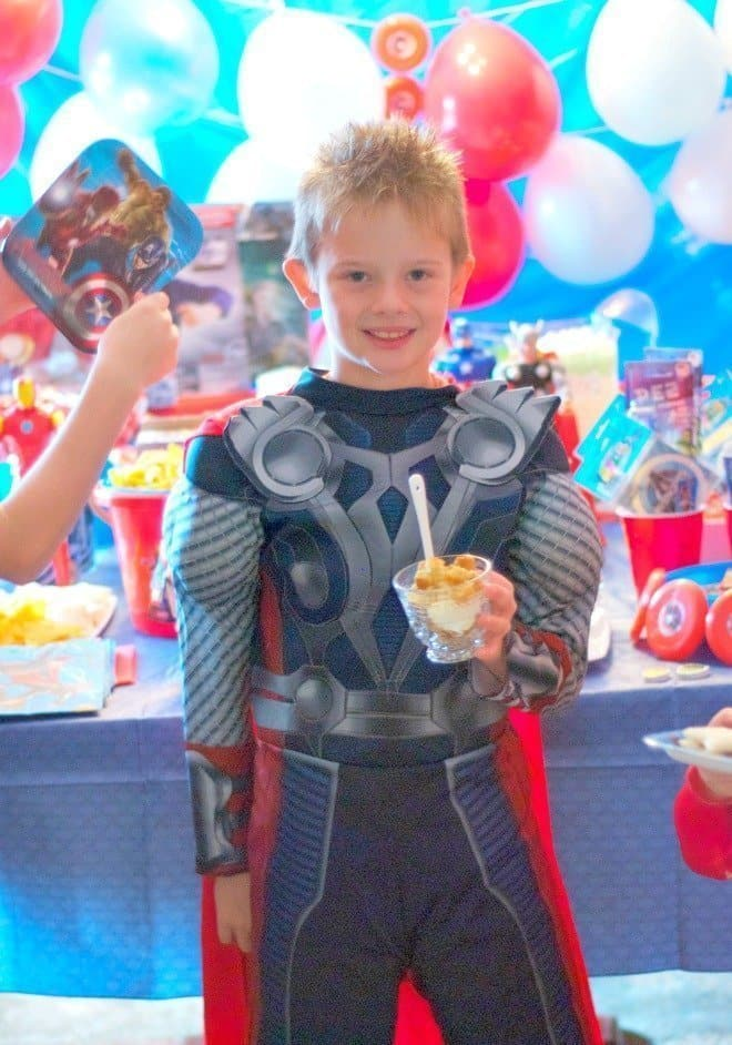 Avengers Dress Up Party