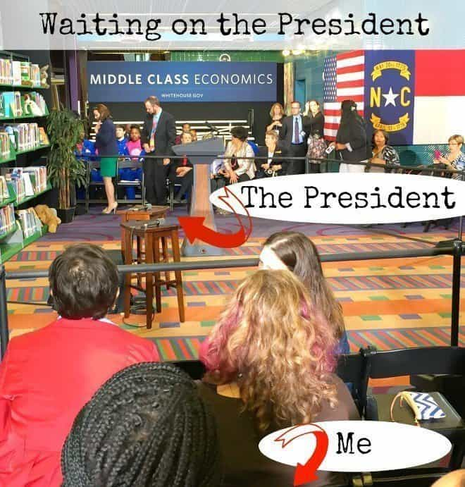 An Afternoon With the President