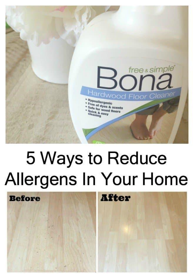 5 Ways to Reduce Allergens