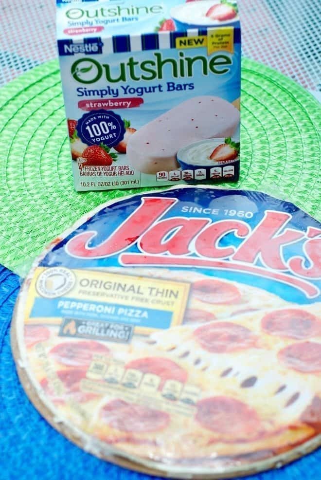 Outshine Bars and Jacks Pizza
