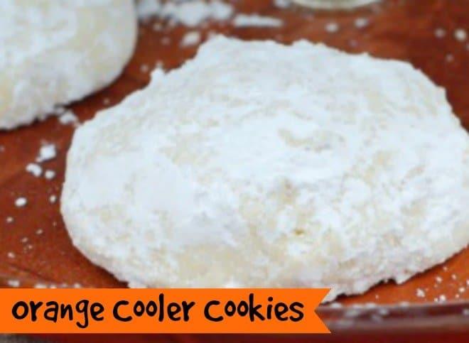 Orange Cooler Cookies