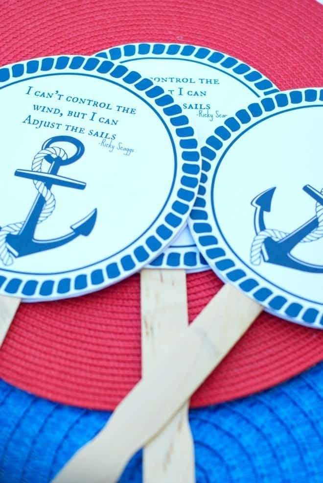 Nautical Themed Cookout
