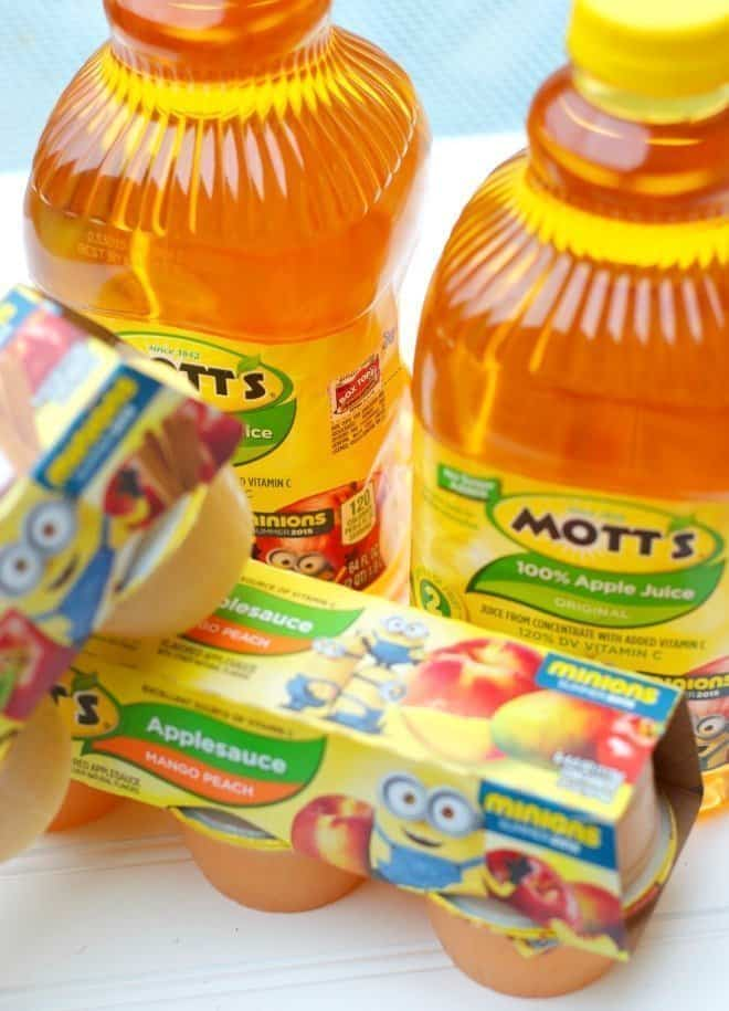 Limited Edition Mott's Minion Products