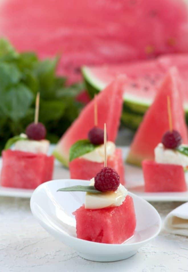 Orzo Salad with Feta & Watermelon