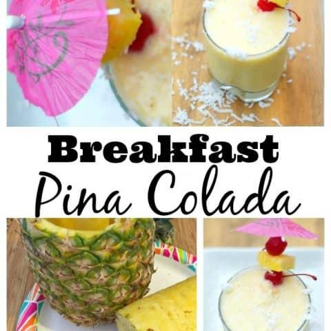 Breakfast Pina Colada
