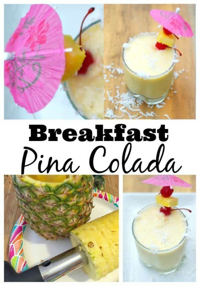 Breakfast Pina Colada