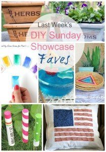 Faves from DIY Sunday Showcase
