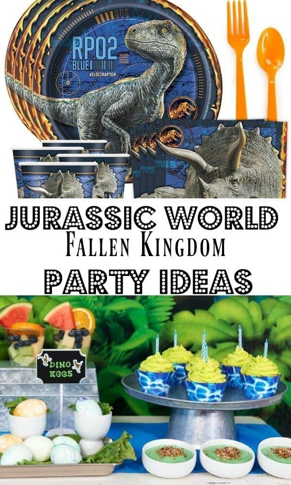 Jurassic World Theme Party Ideas - Fallen Kingdom