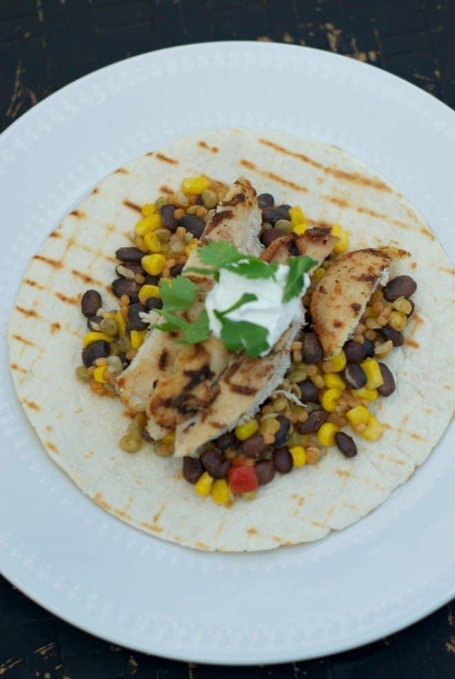 Tyson & Birds Eye - ingredients in my Quick & Easy Chicken Fajitas