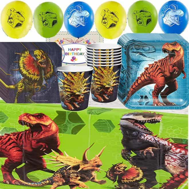 Party Pack for Jurassic World Theme Party