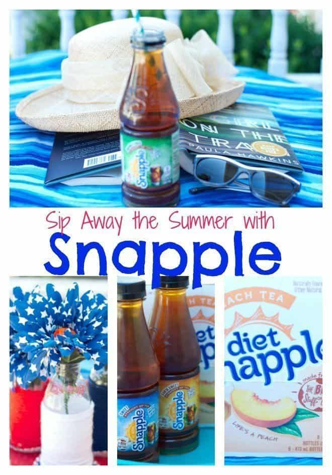 Sip Away the Summer with Snapple