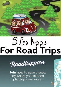 Five Fun Apps for Road Trips