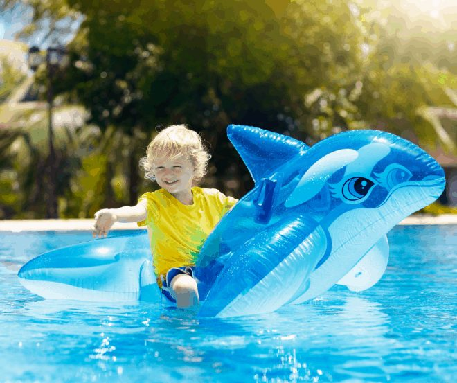 Shark Week Party Ideas - Pool Party