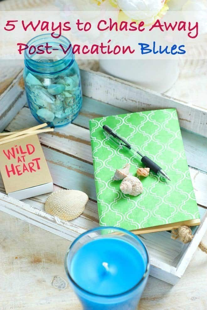Seashell Crafts - Chase Away Post Vacation Blues
