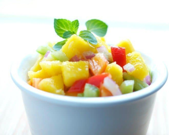Sweet & Spicy Mango Salsa