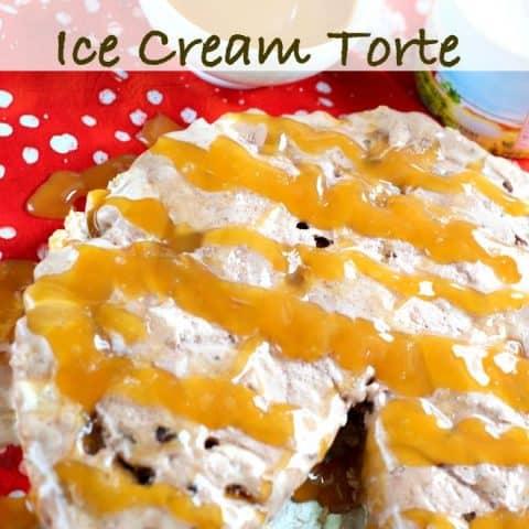 Salted Caramel Ice Cream Torte