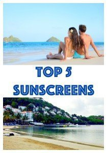 The 5 Top Sunscreens