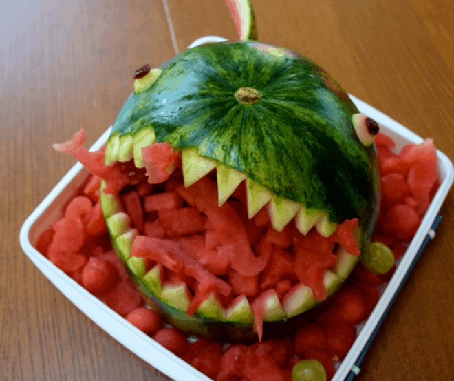 Watermelon Shark for Shark Party