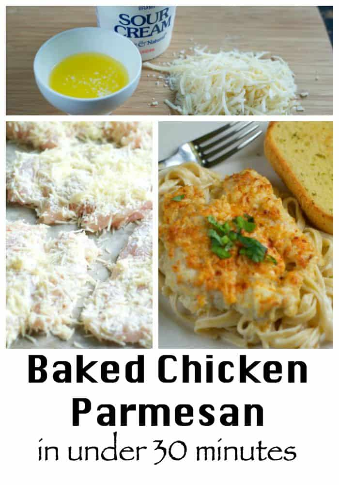 Baked Chicken Parmesan | My Cooking Spot