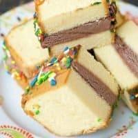 Quick & Easy Ice Cream Sandwiches