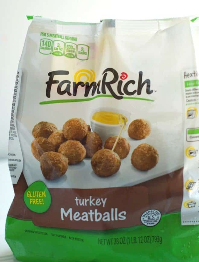 Turkey Meatballs from Farm Rich Products