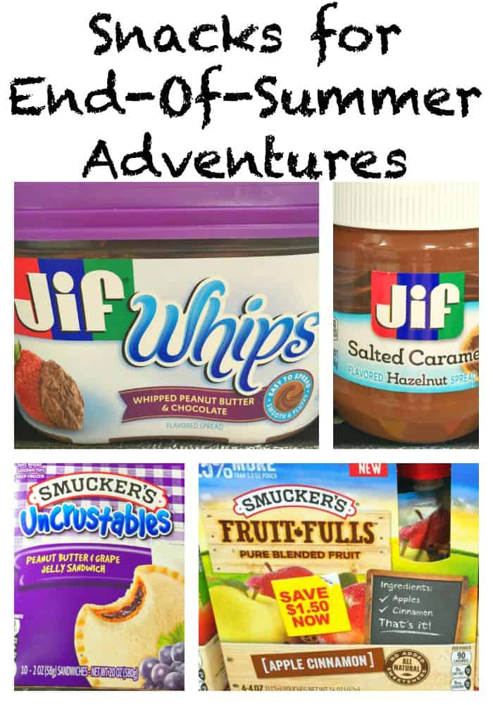 Snacks For End-of-Summer Adventures - An Alli Event