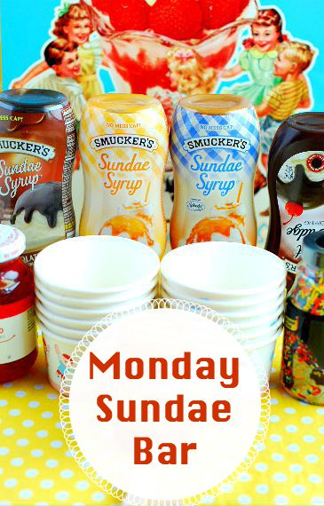 Monday is a perfect day for a Sundae