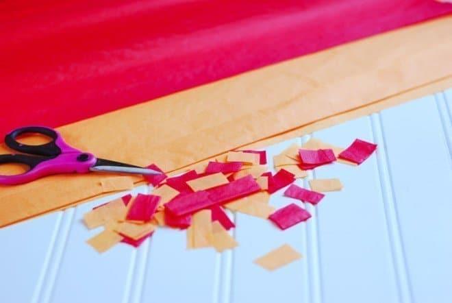 DIY Fall Mosaic Candy Jar