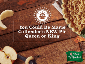 Pie Queen or King search