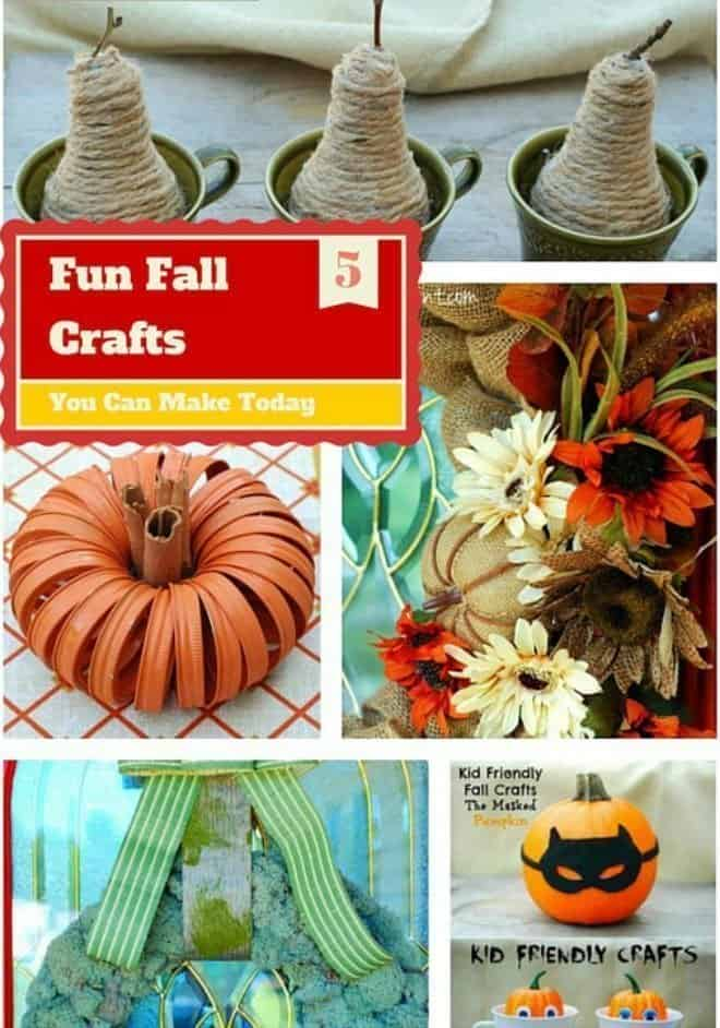 5 Fun Fall Crafts