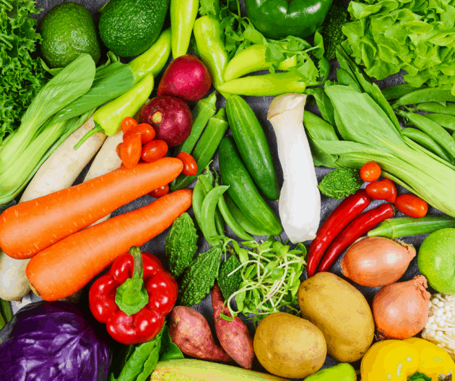 fresh produce - one of 5 ways on eating healthy on a budget