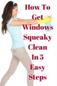 5 Easy Steps to A Sparkling Clean Window