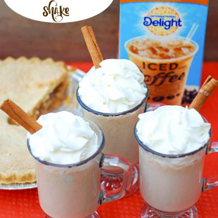 Apple Pie Caramel Shake