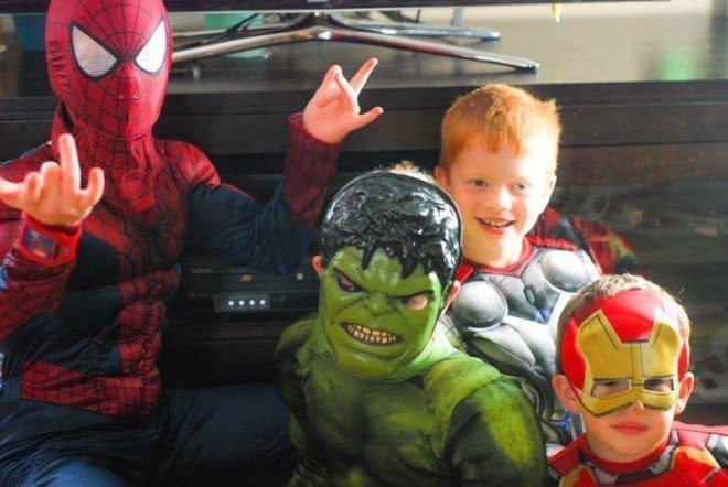 MARVEL Superhero Party