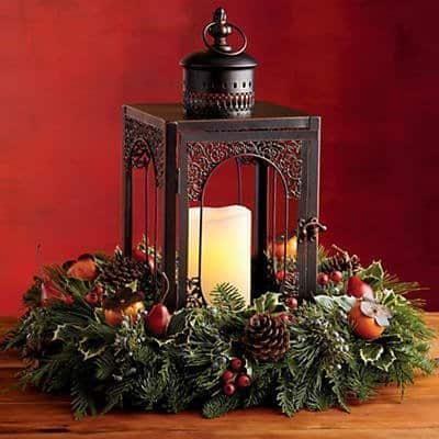 Evergreen Lantern Centerpiece from Harry & David