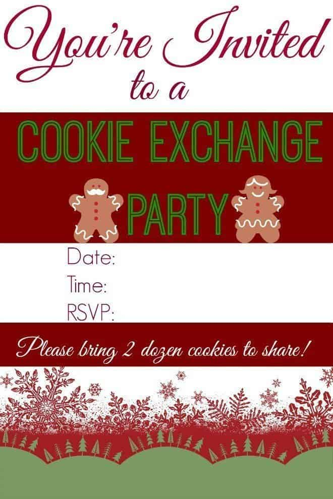 Cookie Exchange Party Dairy Free Punch An Alli Event