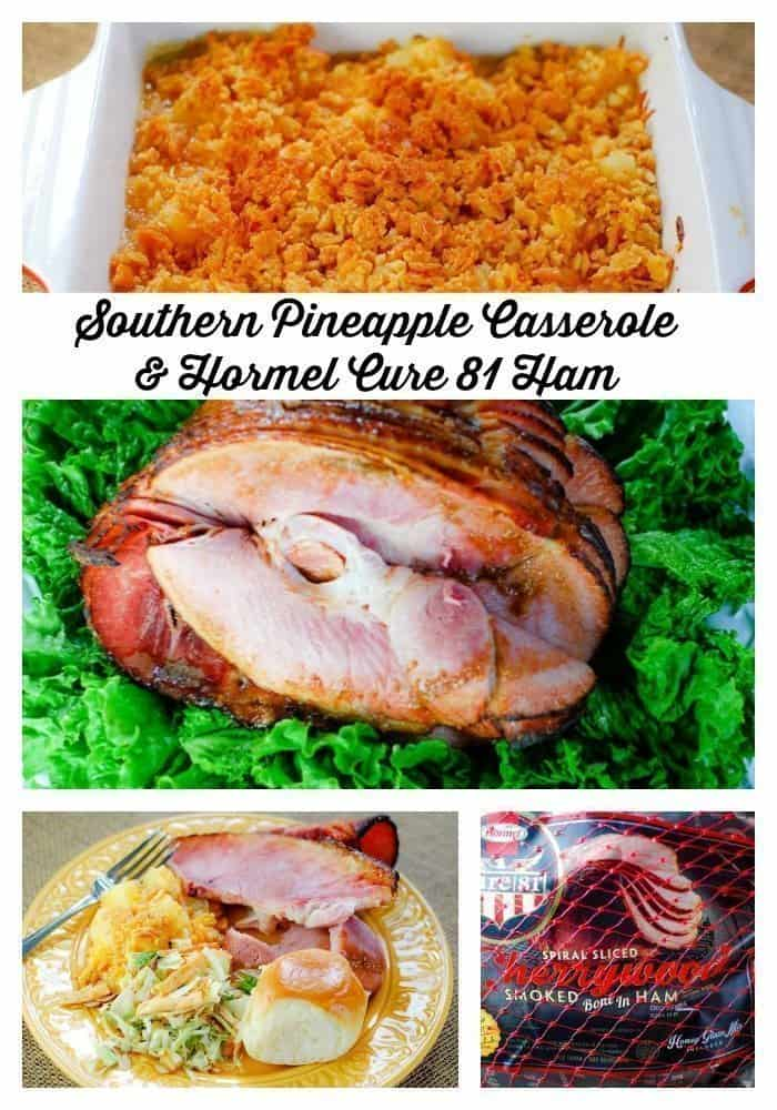 Southern Pineapple Casserole pairs perfectly with Hormel Cure 81 Bone-In Cherrywood Ham.