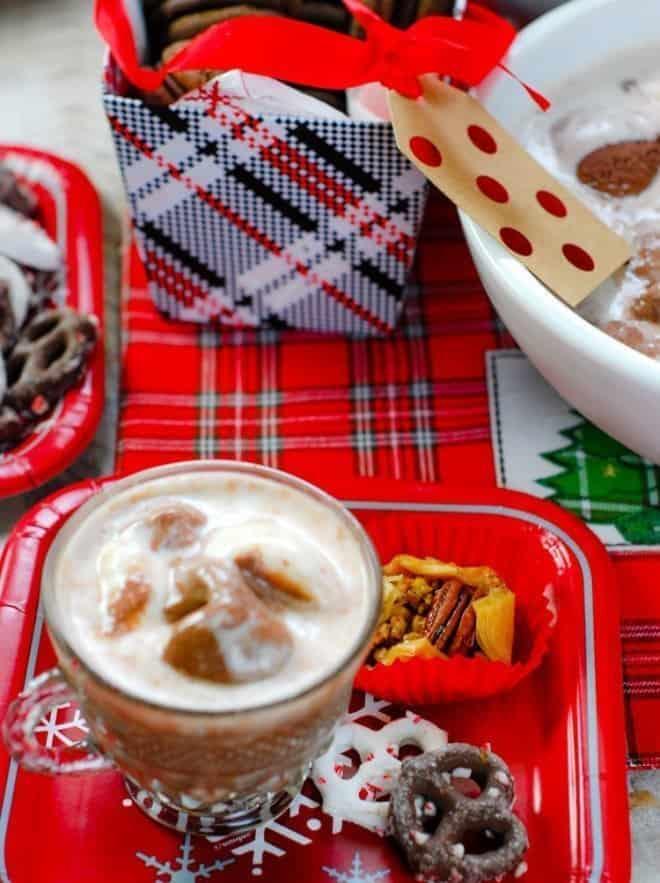 Vanilla Bean & Chocolate Punch, Free Printables & Recipes