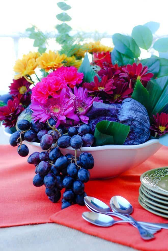 Low Cost Thanksgiving Day Centerpiece Ideas