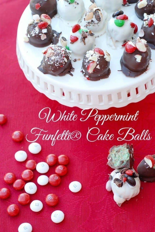 My White Peppermint Funfetti® Cake Balls are a huge hit with my family and friends. Everyone is asking for the recipe!